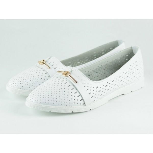 Балетки  женские E2-OK-WHITE